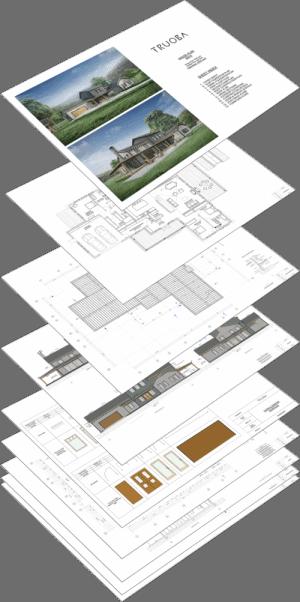 Truoba home plan set
