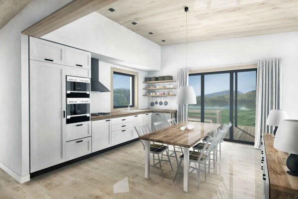 Truoba 115 house plan kitchen