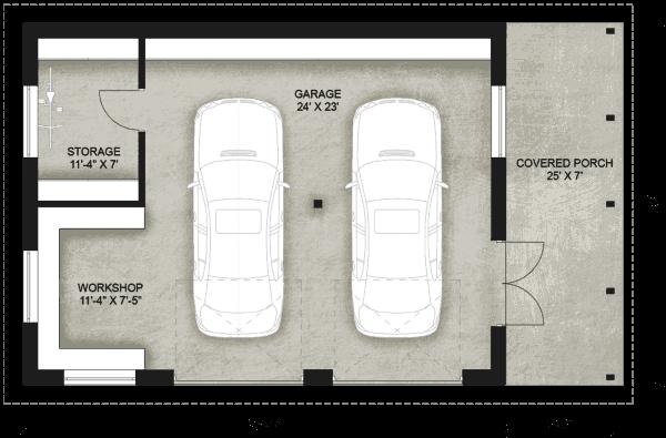 Truoba Garage 118 garage plan