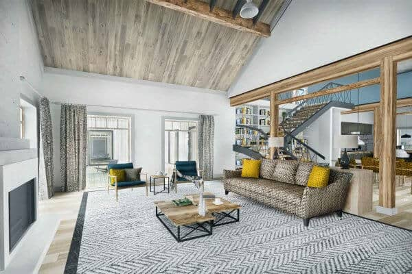 Truoba Class 216 house plan living room