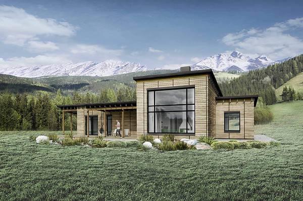 Truoba Class 116 house plan exterior