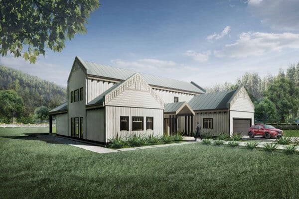Truoba Class 216 house plan front elevation