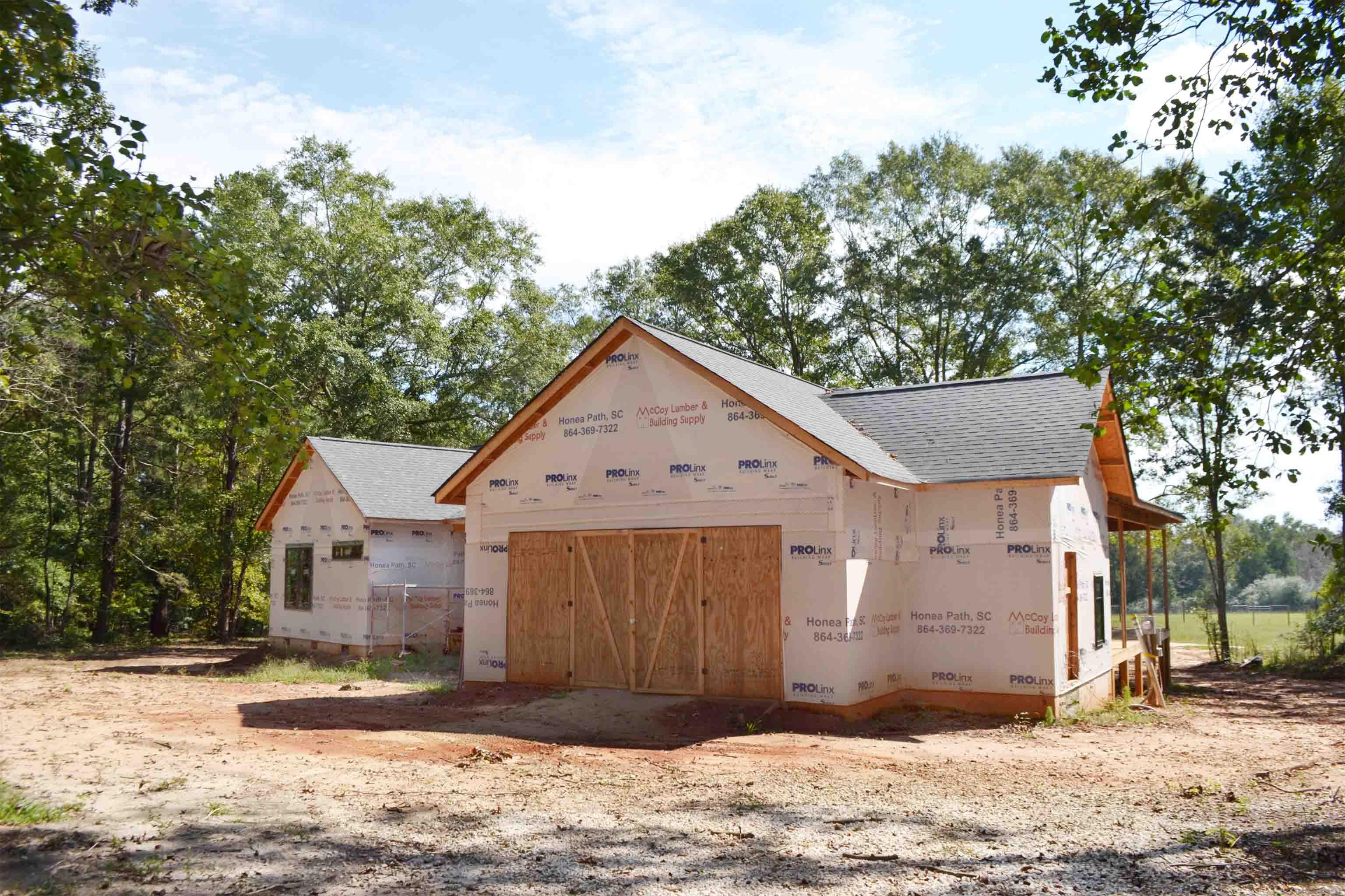 Truoba built house garage in South Carolina