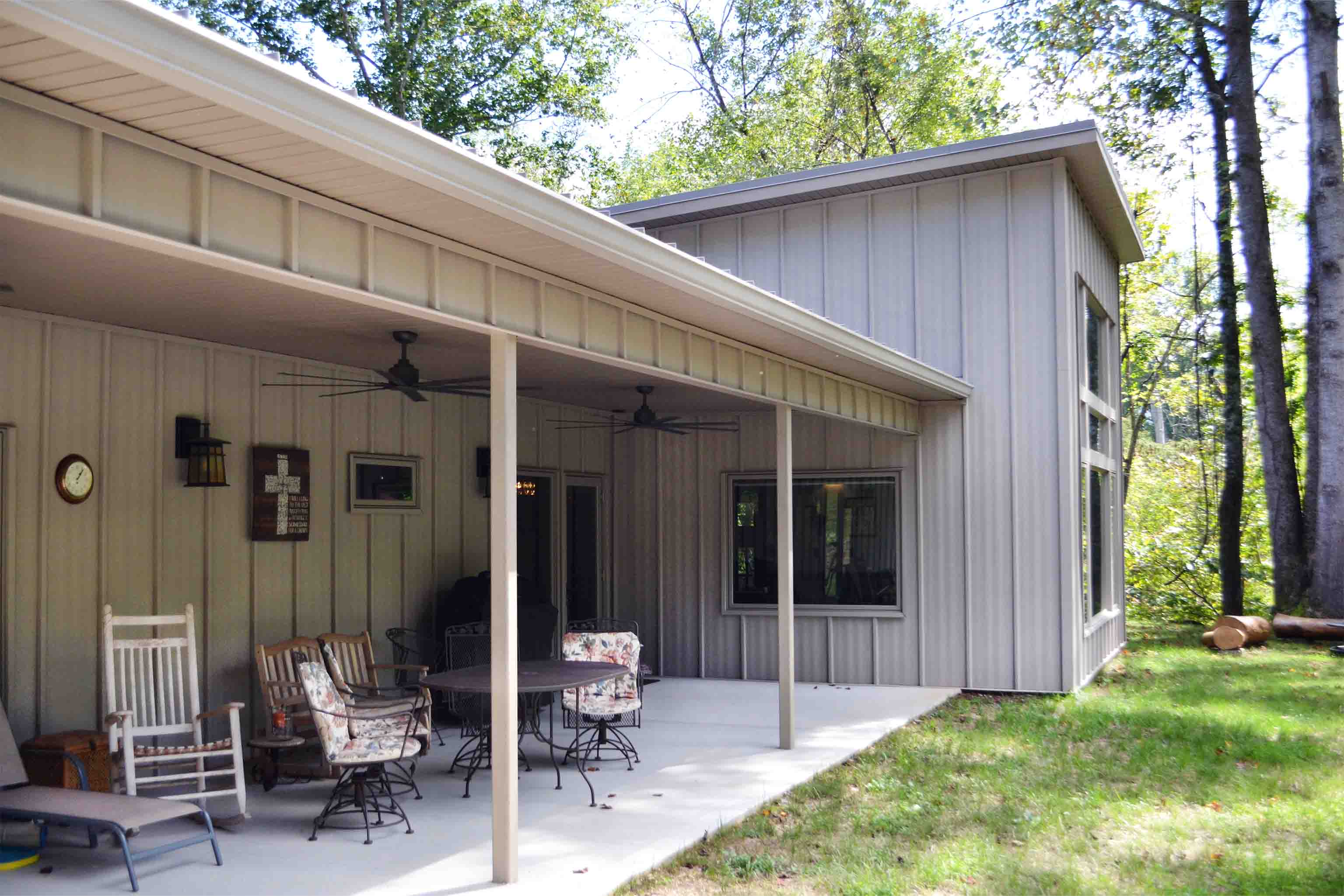 Truoba built house porch in Tennessee